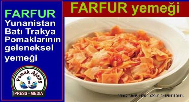FARFUR yemeği