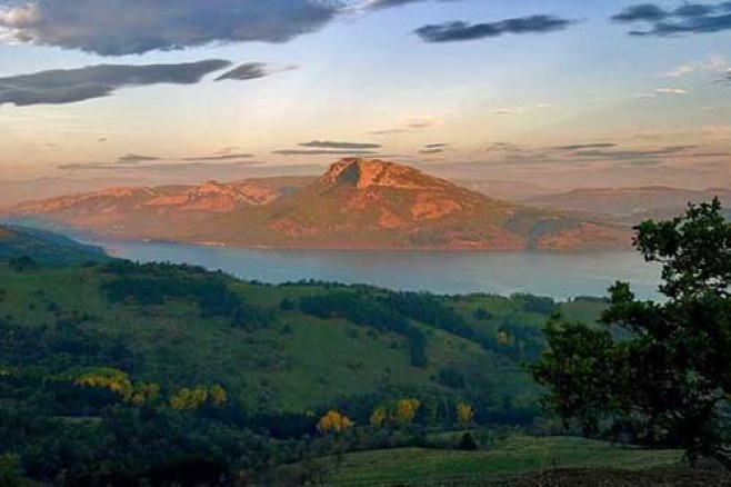Rodop Dağlarında termal sularda sağlık tatili
