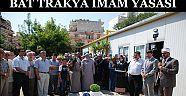 BATI TRAKYA Yunanistanda - 240 İmam Yasası